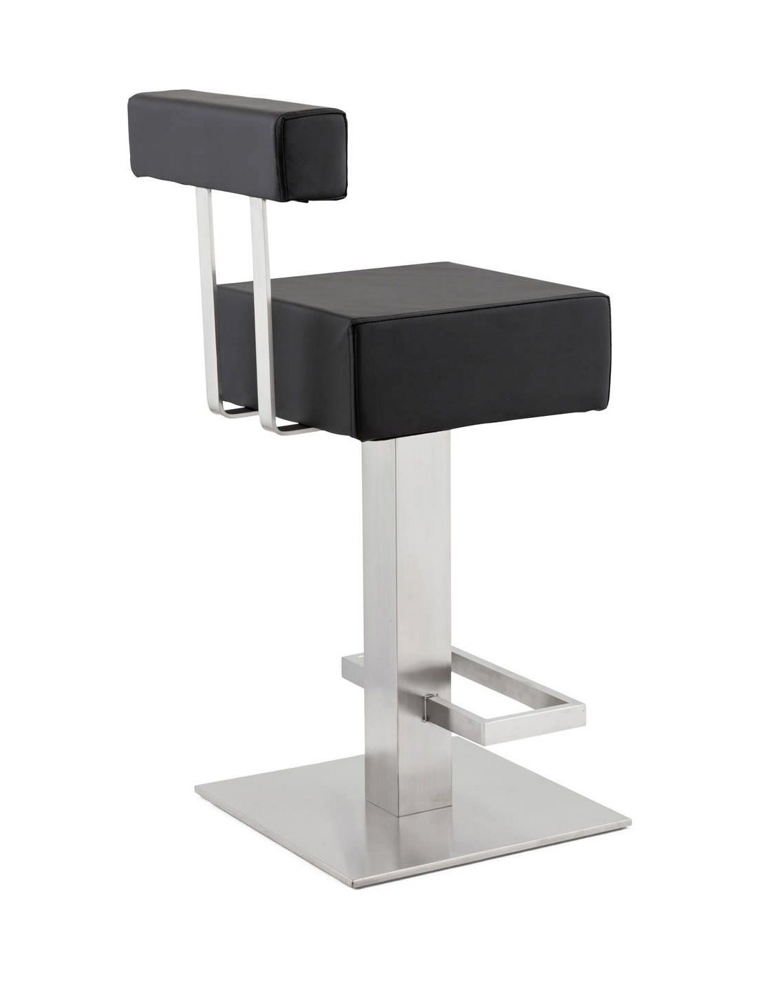 tabouret de bar design noble mini kokoon design noir. Black Bedroom Furniture Sets. Home Design Ideas