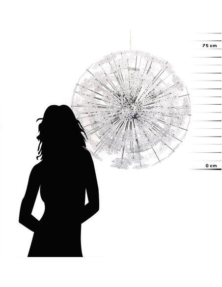 Lampe suspendue design SNOWFLAKE - par Kokoon Design