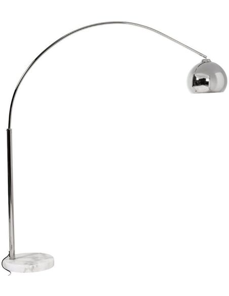 Lampe de sol design LOFT SMALL CHROME - par Kokoon Design