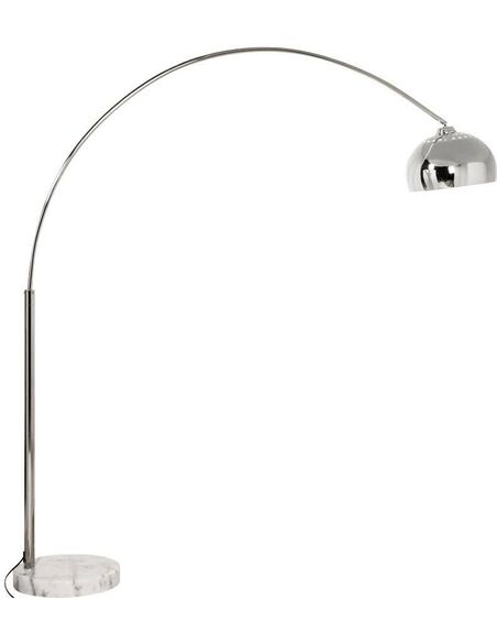 Lampe de sol design LOFT XL CHROME - par Kokoon Design