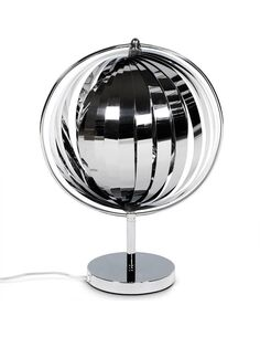 lampe de table NINA SMALL CHROME - par Kokoon Design