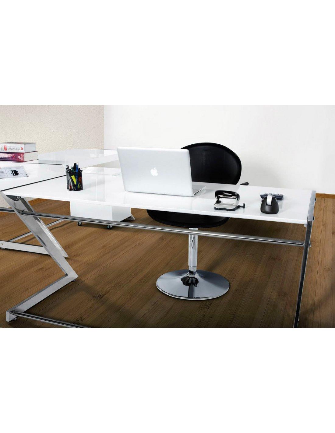 bureau d angle arrondi modern kokoon design 1 chez recoll. Black Bedroom Furniture Sets. Home Design Ideas