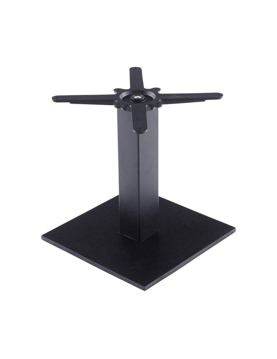 Pied De Table Exterieur.Pied De Table 45 Cm Kokoon Design Noir
