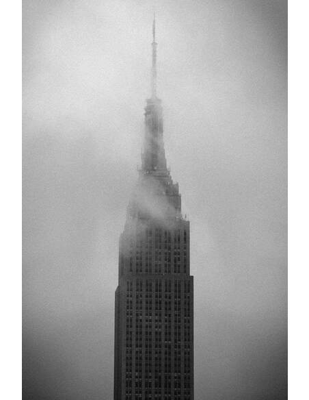 Tableau EMPIRE STATE BUILDING DANS LA BRUME - par ReCollection