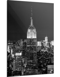Tableau EMPIRE STATE BUILDING BY NIGHT - par ReCollection