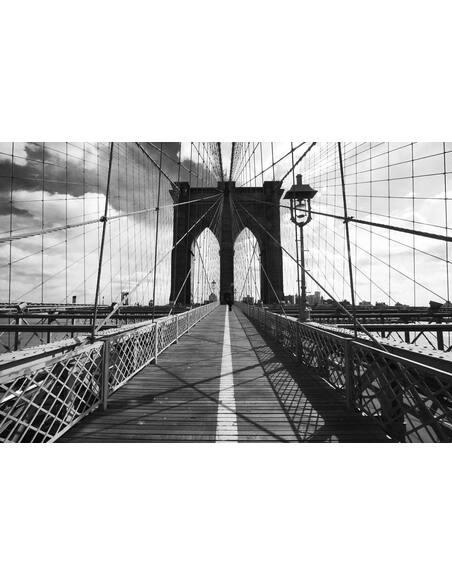 Tableau INSIDE THE MANHATTAN BRIDGE - par ReCollection