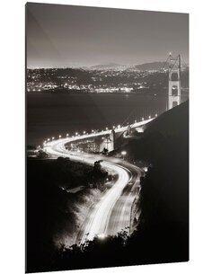 Tableau CROSS LINE GOLDEN GATE - par ReCollection