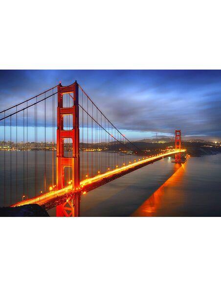 Tableau SAN FRANCISCO GATE - par ReCollection