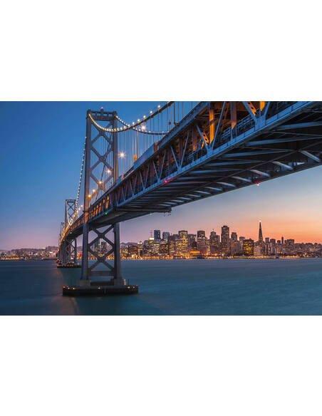 Tableau SAN FRANCISCO UNDER THE BRIDGE - par ReCollection