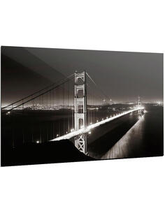 Tableau GOLDEN GATE BLACK AND WHITE - par ReCollection