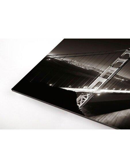 Tableau GOLDEN GATE BLACK AND WHITE - par ReCollection