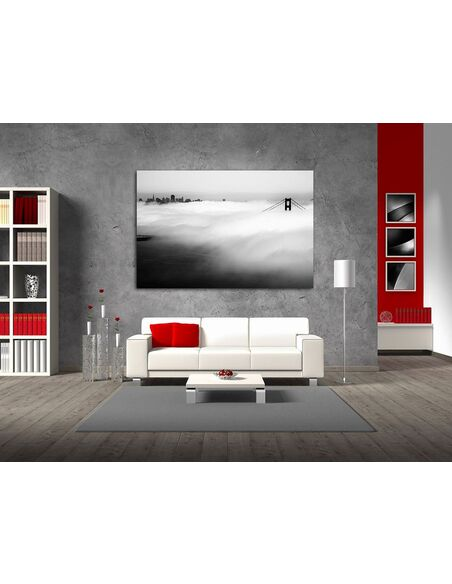 Tableau MIST BLACK AND WHITE - par ReCollection