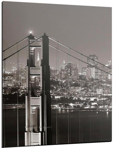 Tableau OVER THE BRIDGE OF SF - par ReCollection