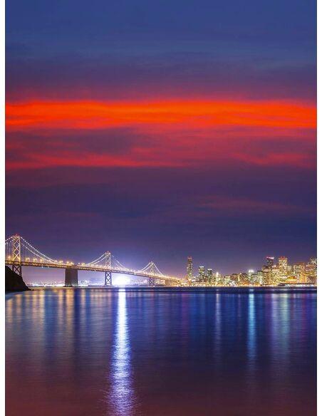 Tableau SKY OVER SAN FRANCISCO - par ReCollection