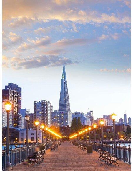 Tableau SAN FRANCISCO'S WHARF - par ReCollection