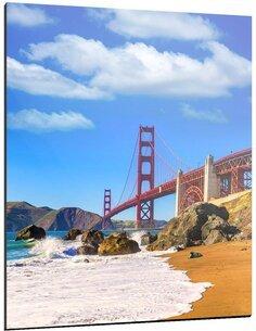 Tableau SAN FRANCISCO'S BEACH - par ReCollection