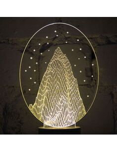 Lampe Bulbing STARRY NIGHT - par Studio Cheha
