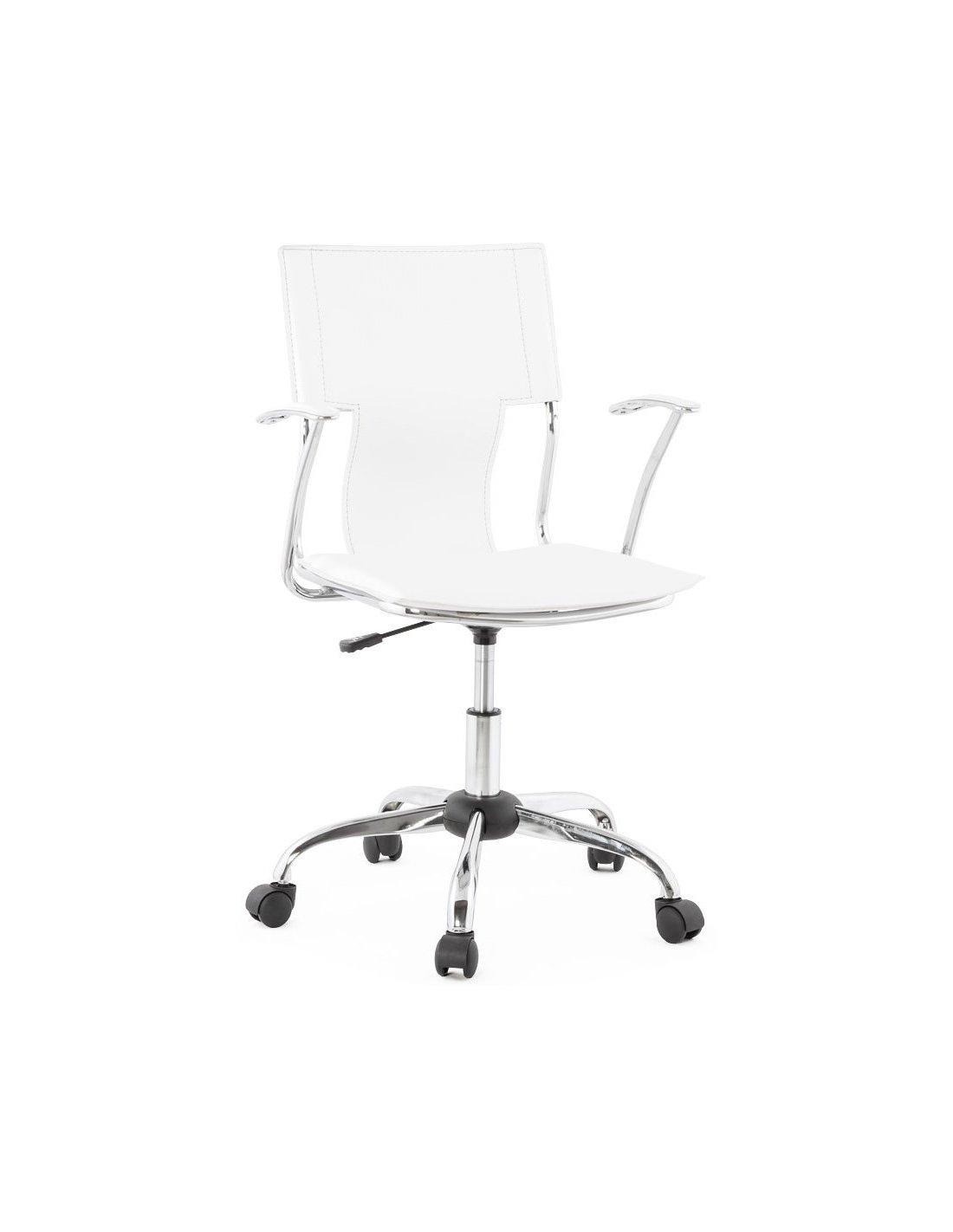 Fauteuil de bureau OXFORD   Kokoon Design   Blanc