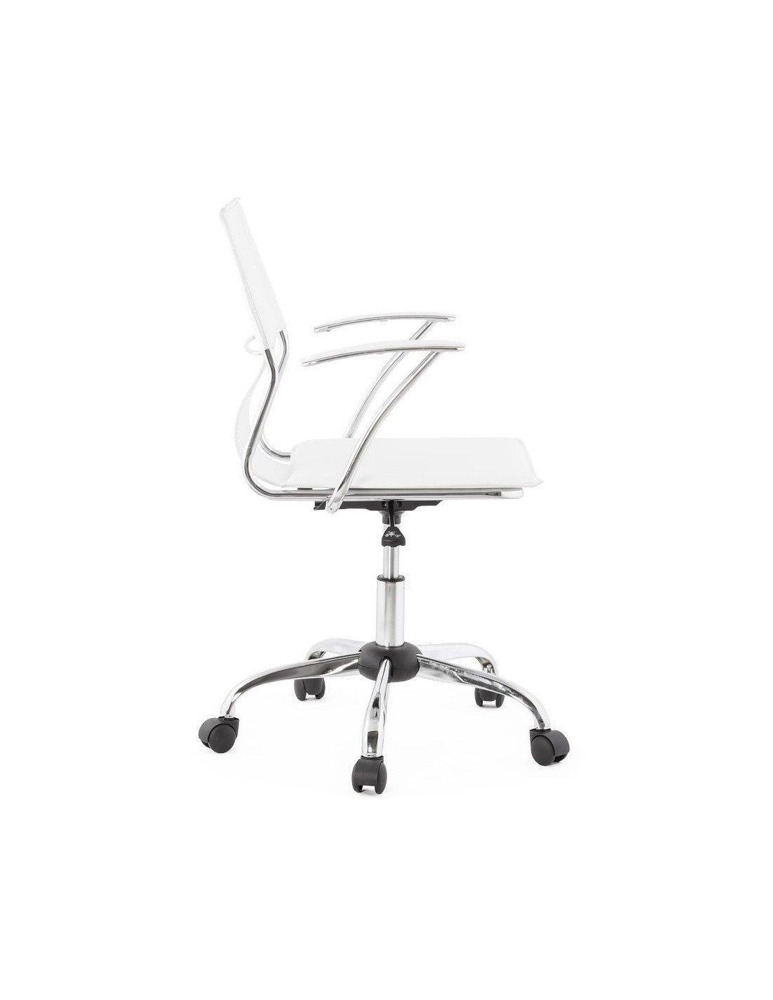 Fauteuil OxfordKokoon Design Blanc Bureau De 7vfbY6yg