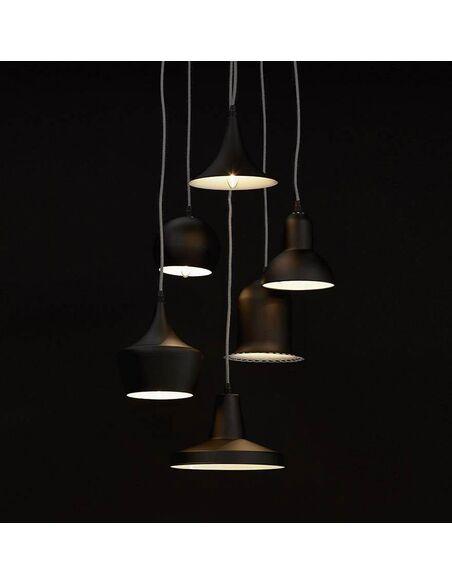 lampe suspendue design pengan kokoon design noir. Black Bedroom Furniture Sets. Home Design Ideas