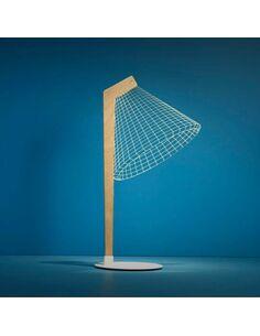 Lampe DESKI 3D Lumière Led - par Studio Cheha