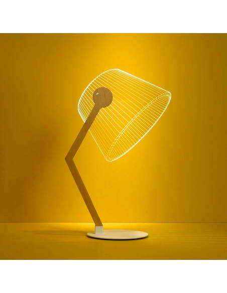 Lampe ZIGGY 3D Lumière Led - par Studio Cheha