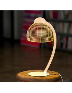 Lampe DOME 3D Lumière Led - par Studio Cheha