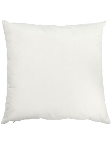 Coussin velours blanc ALFRED TOWN - par J-Line
