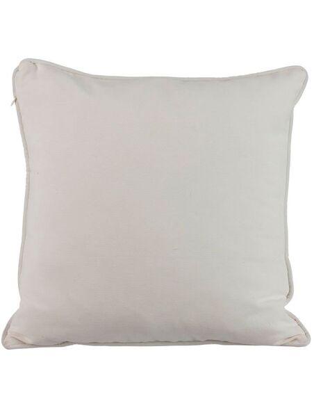 Coussin ourlet blanc ANGLE VALE - par J-Line