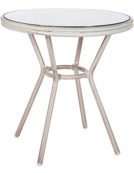 Table hilda aluminium AUSTRALIND - par J-Line