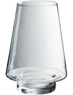 Bougeoir verre transparent BAERAMI CREEK - par J-Line