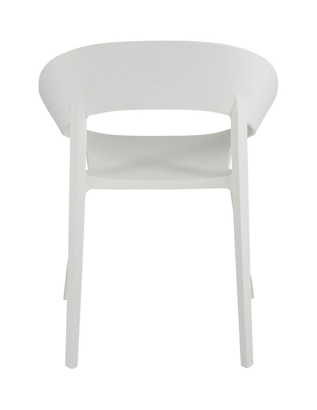 Chaise lola blanc BAIRNSDALE | J Line | Blanc