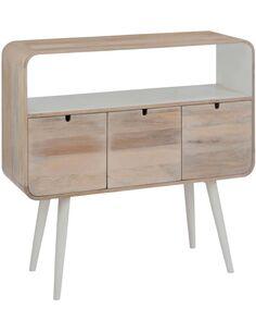 Console 3 tiroirs retro bois BANDIANA - par J-Line