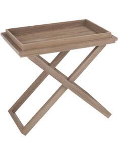 Table d'appoint rectangulaire bois BAREP - par J-Line