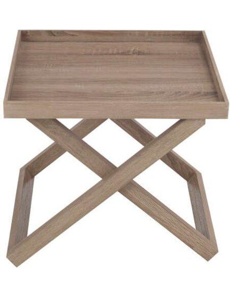 Table d'appoint rectangulaire bois BARFOLD - par J-Line