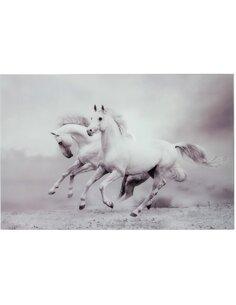 Decoration murale 2 chevaux BARYULGIL - par J-Line