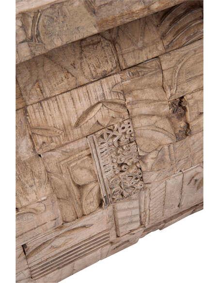 Table basse rectangulaire bois gris BATCHELOR - par J-Line