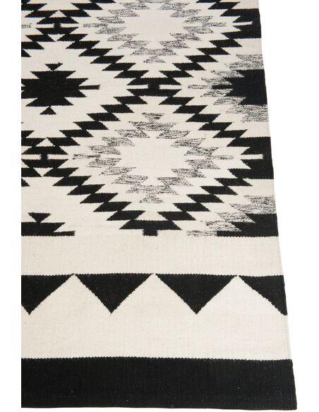 Tapis rectangulaire ethnique coton BEALIBA - par J-Line