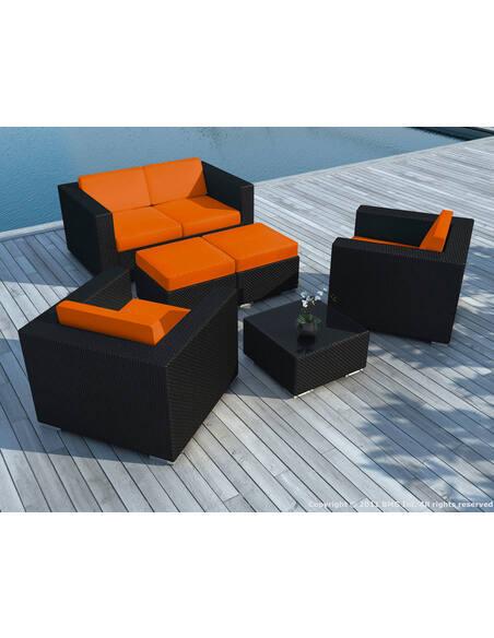 Sd9505 Orange (Sd9505 Black/White + Housse Orange) - Salon De Jardi...