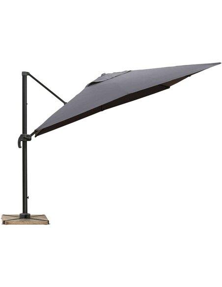 Parasol DELORM Gris déporté 3X3M - par Delorm