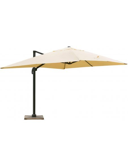 Parasol DELORM Sable déporté 3X4M - par Delorm
