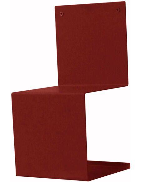 Etagère BELUGA d'intérieur Moderne Rouge - par Delorm