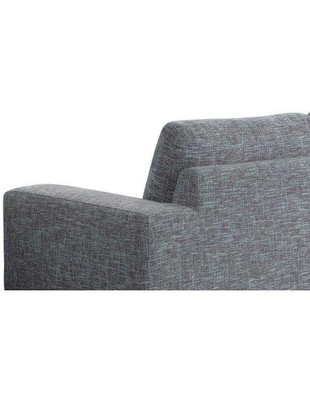 Canapé 3 Places JAZZ NARBONNE tissu Fixe - par Delorm