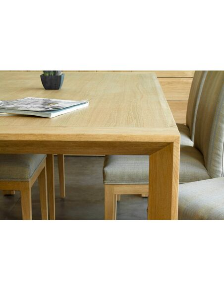 Table CUTE KUBICO chêne massif - par Delorm