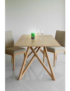 Table À Dîner CUTE SPIDER chêne massif - par Delorm