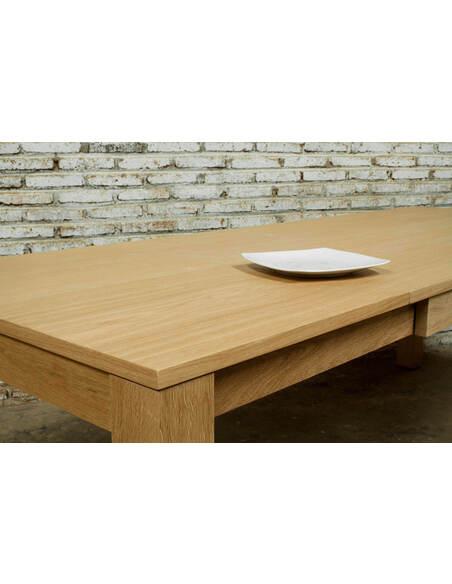 Table À Dîner extensible CUTEKUBICO chêne massif - par Delorm