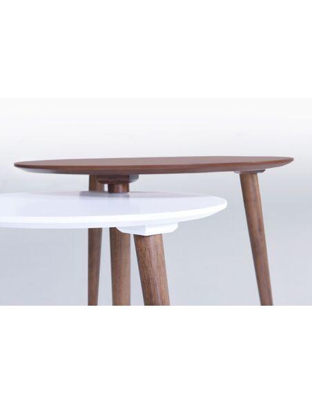 Table Gigogne ZEN TWIN - par Delorm