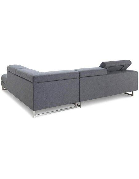 Canapé d'angle STREET CITY tissu angle Droit - par Delorm