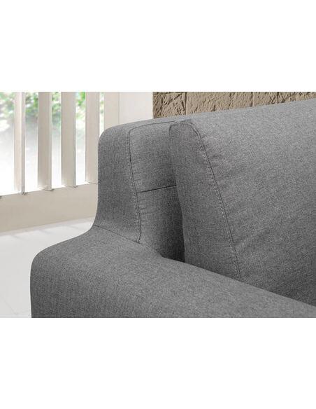 Canapé d'angle SUN SEASON tissu angle Droit - par Delorm