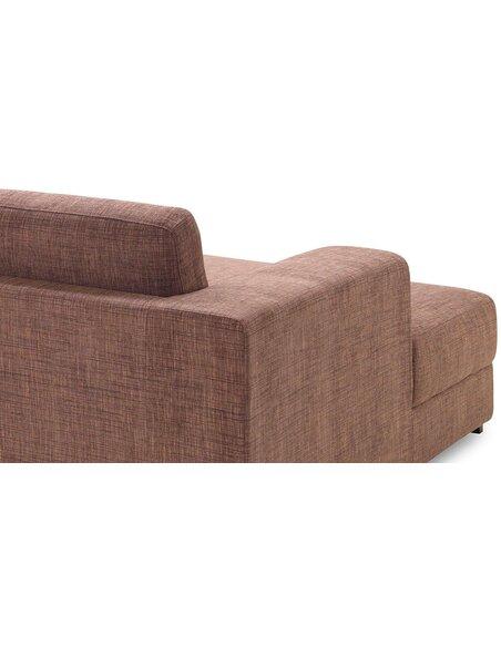 Canapé d'angle ROAD MENDE tissu angle Gauche - par Delorm